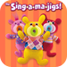"Toys""R""Us presents The Sing-a-ma-jigs™! by Mattel."